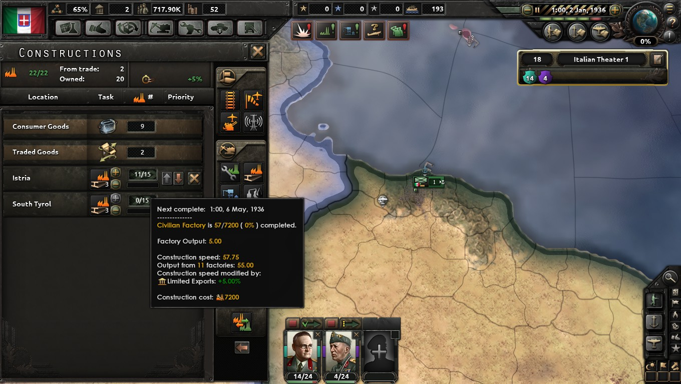 Building the Italian Juggernaut: An HOI4 AAR | Paradox Interactive