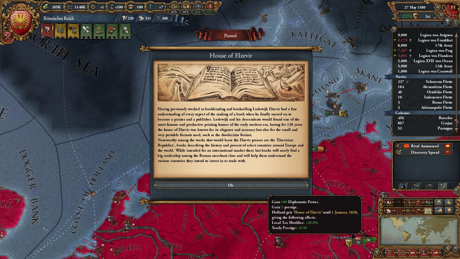 The Hohenzollern Empire 2: Über Alles - A Roman Reich Megacampaign