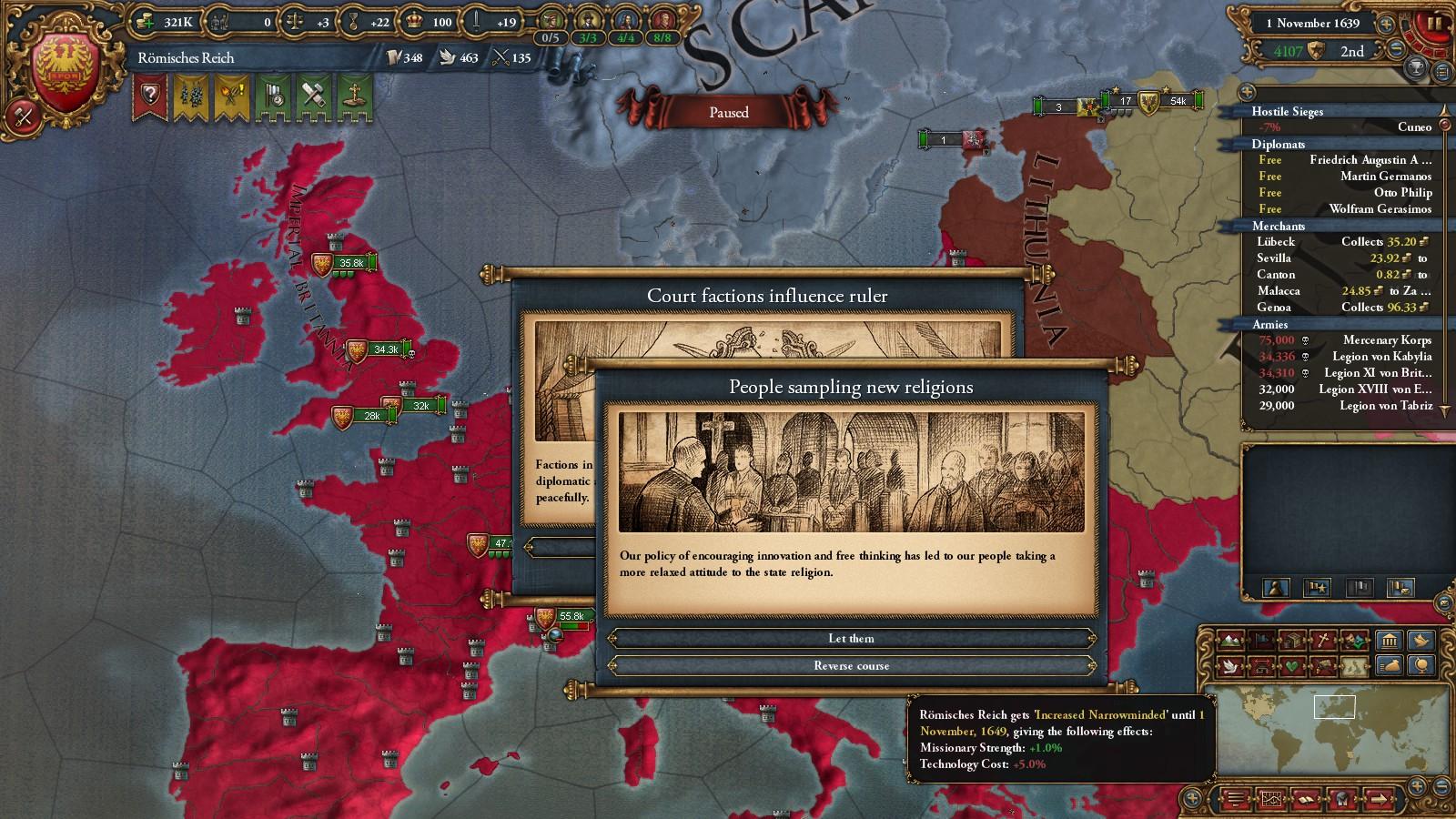 The Hohenzollern Empire 2: Über Alles - A Roman Reich
