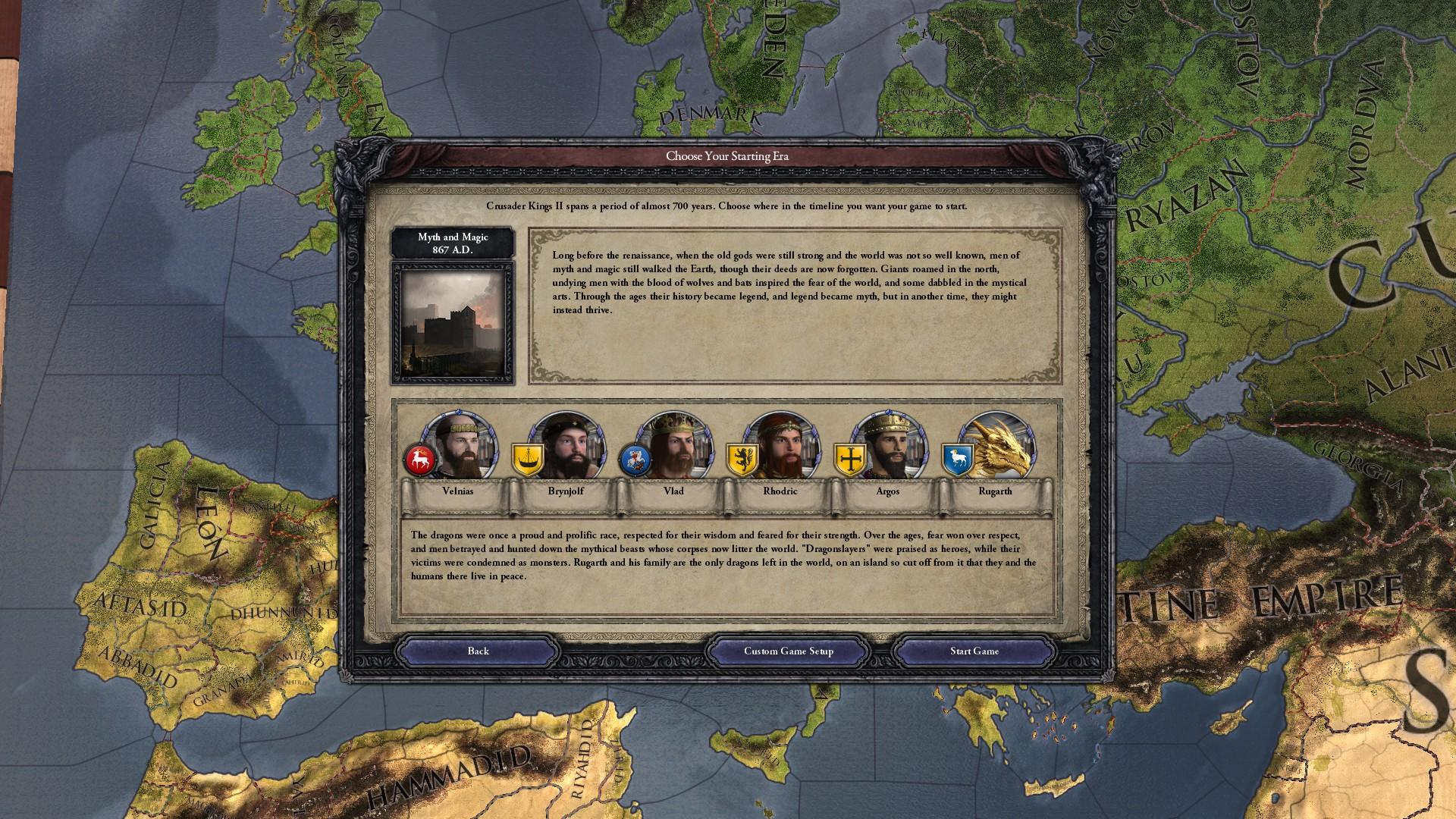 Mod Mythos An Historical Fantasy Mod Page 15 Paradox