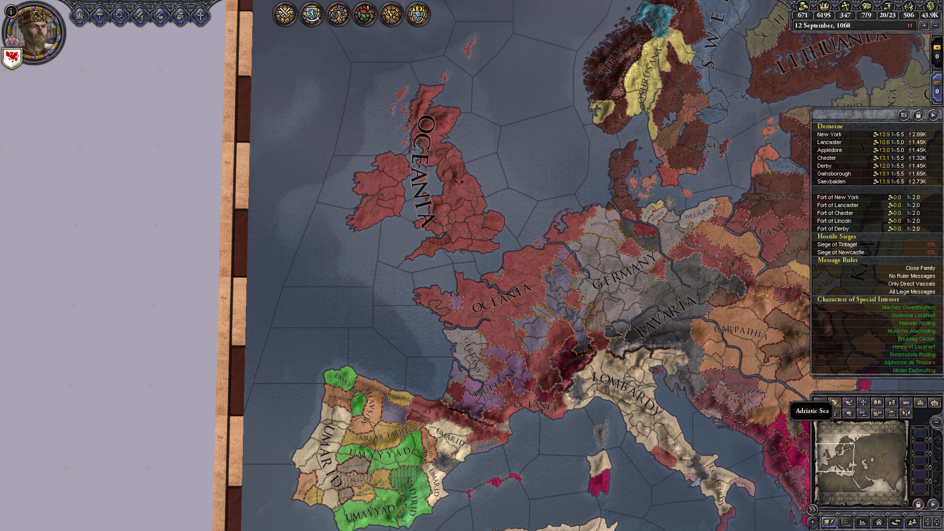 Change Succession law in secondary title | Paradox