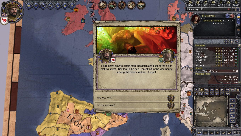 Ck2 homosexual events