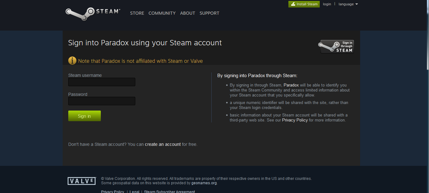 Are you seriously telling me I have to give you my steam