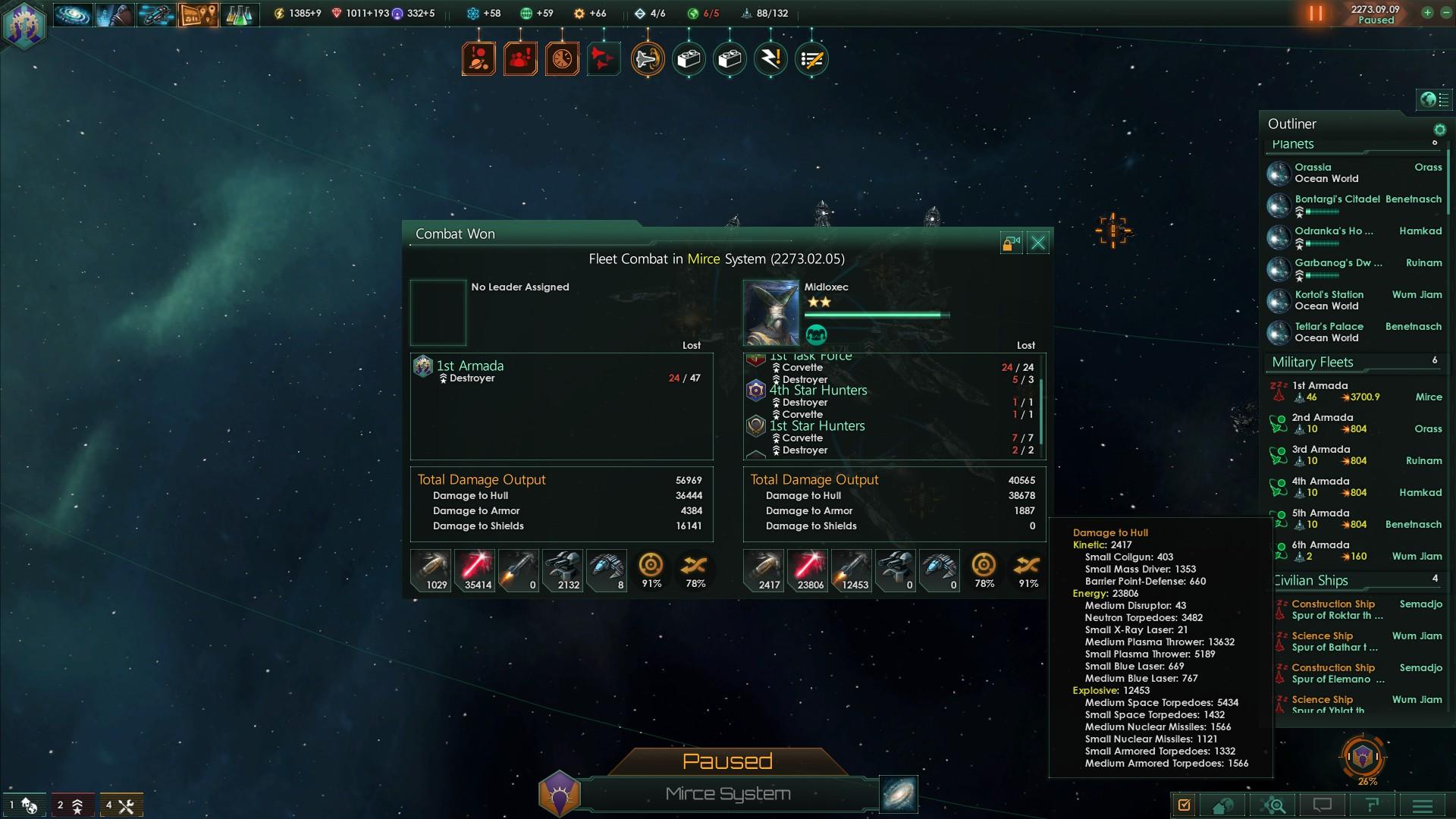 Stellaris arc emitter vs particle lance