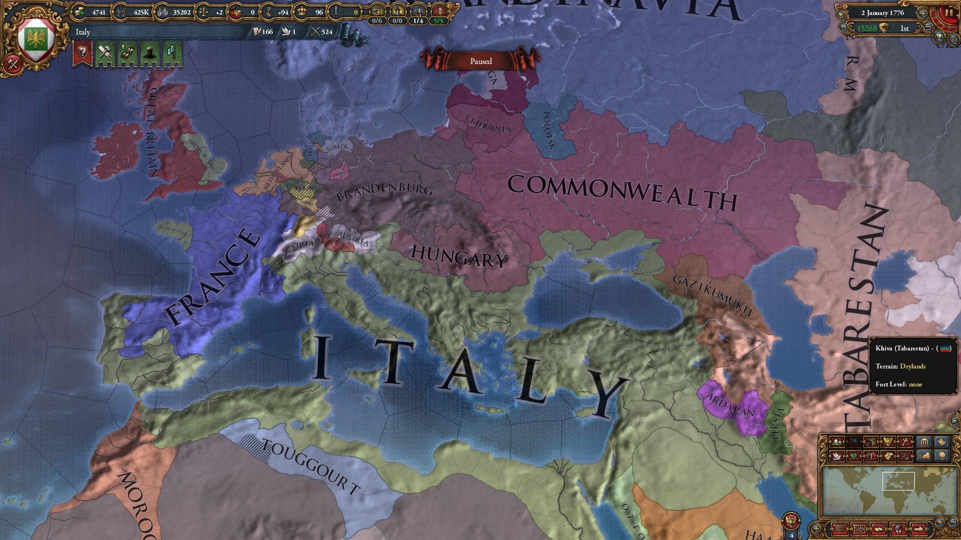 From Venice, to Italy, to Roman Empire | Paradox Interactive