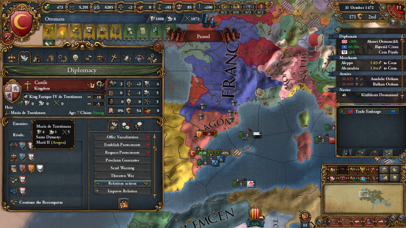 Can I stop the Iberian Wedding??? :(  Paradox Interactive Forums