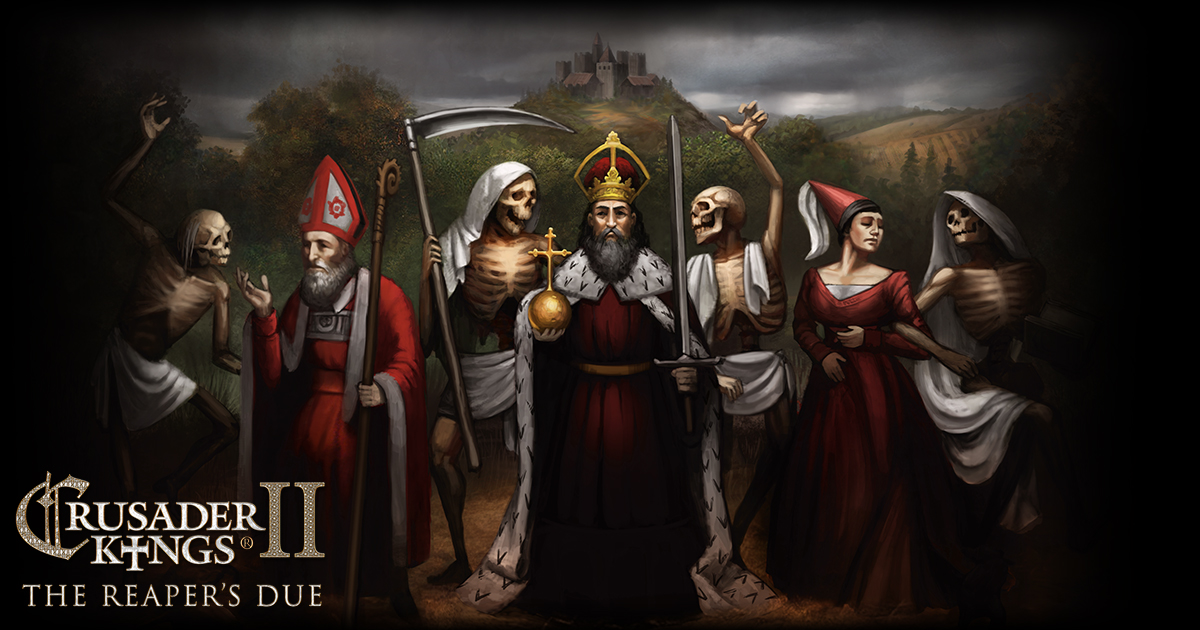 Crusader Kings II: The Reaper's Due Livestream! | Paradox