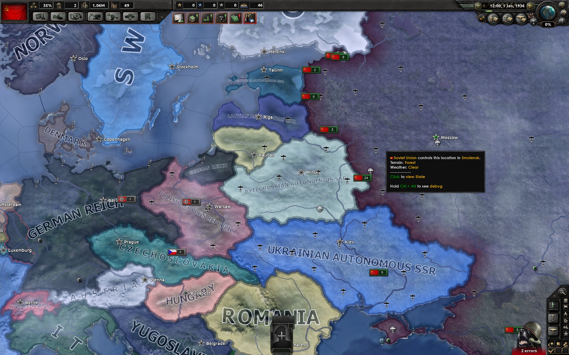 HOI4 Dev Diary - Cosmetic tags, art, gameplay and AI