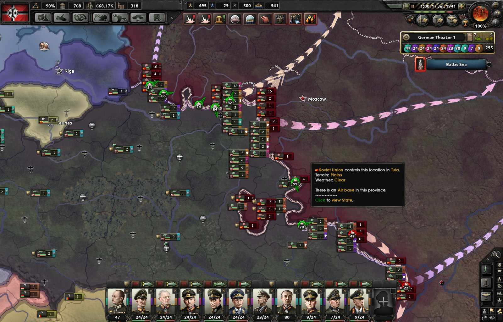Issues with AI Germany is why Germany loses the war in 1941