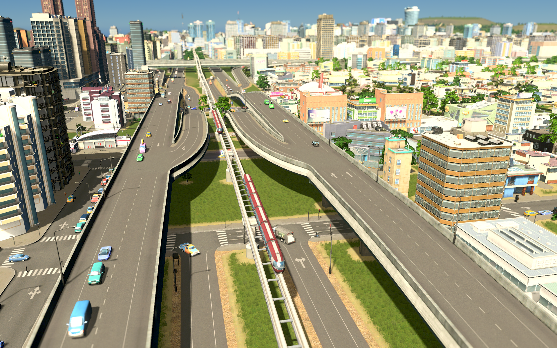 Cities Skylines Best Traffic Layout