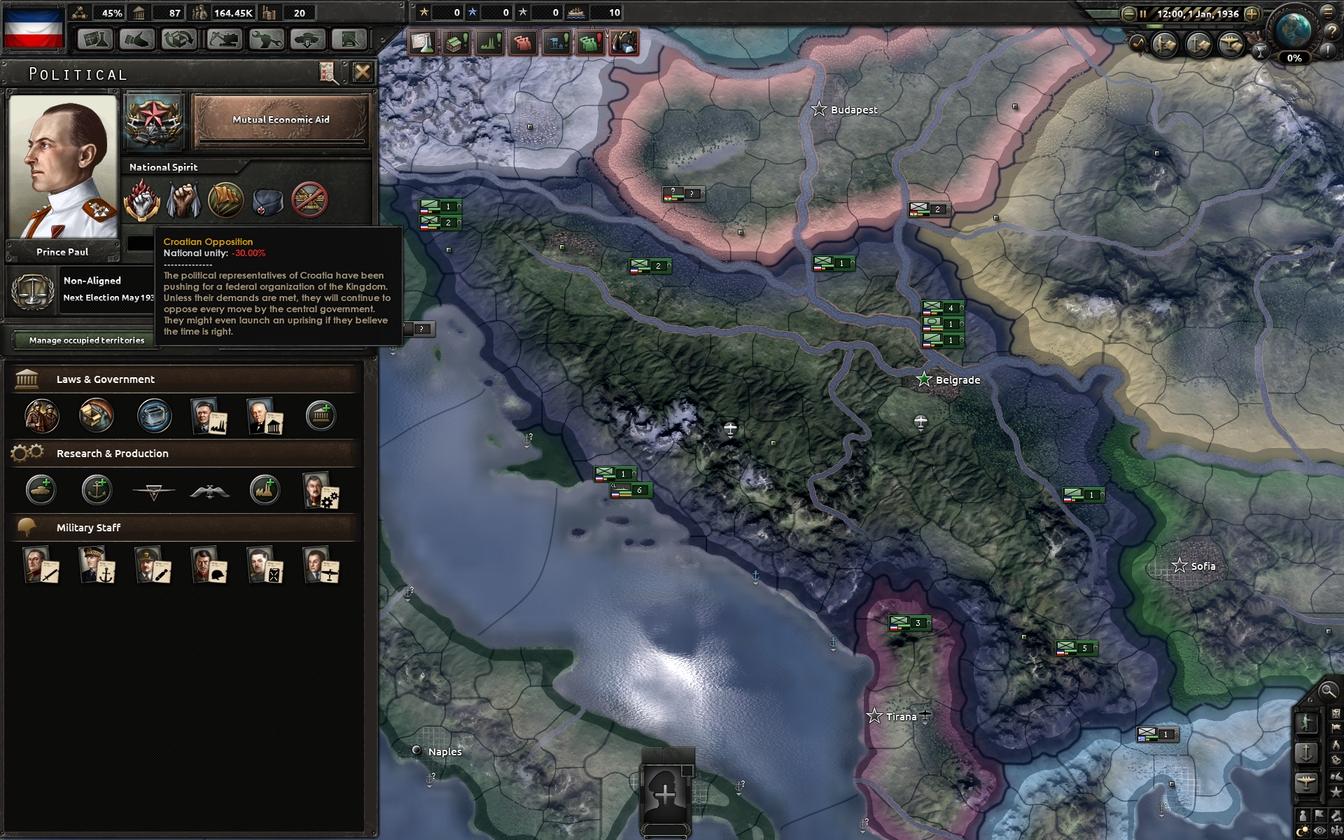 HOI4 Dev Diary - Yugoslavia and Air Zones | Paradox