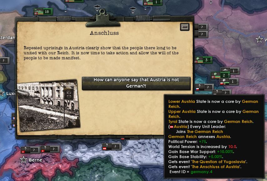 Tbh when making Austria-Hungary you should get all of ...