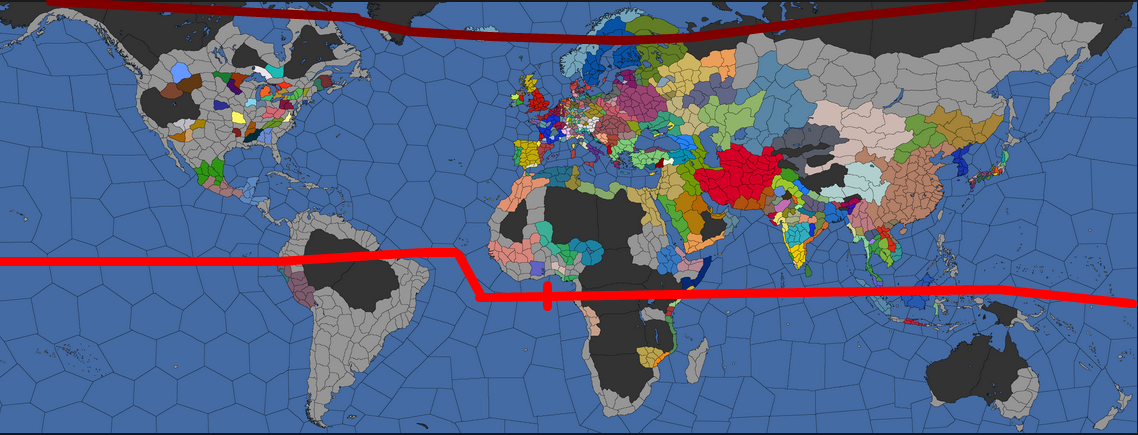 Centralize the equator paradox interactive forums edit the idea is to add a single unnavigable sea wasteland on the south edge of the world map so the equator is somewhat more centralized gumiabroncs Gallery