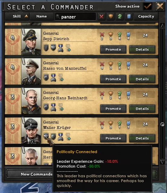 HoI 4 Dev Diary - Leaders, abilities and Traits | Paradox