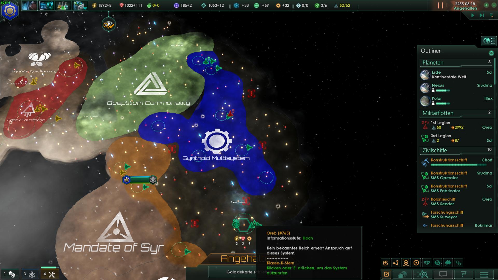 stellaris einfluss