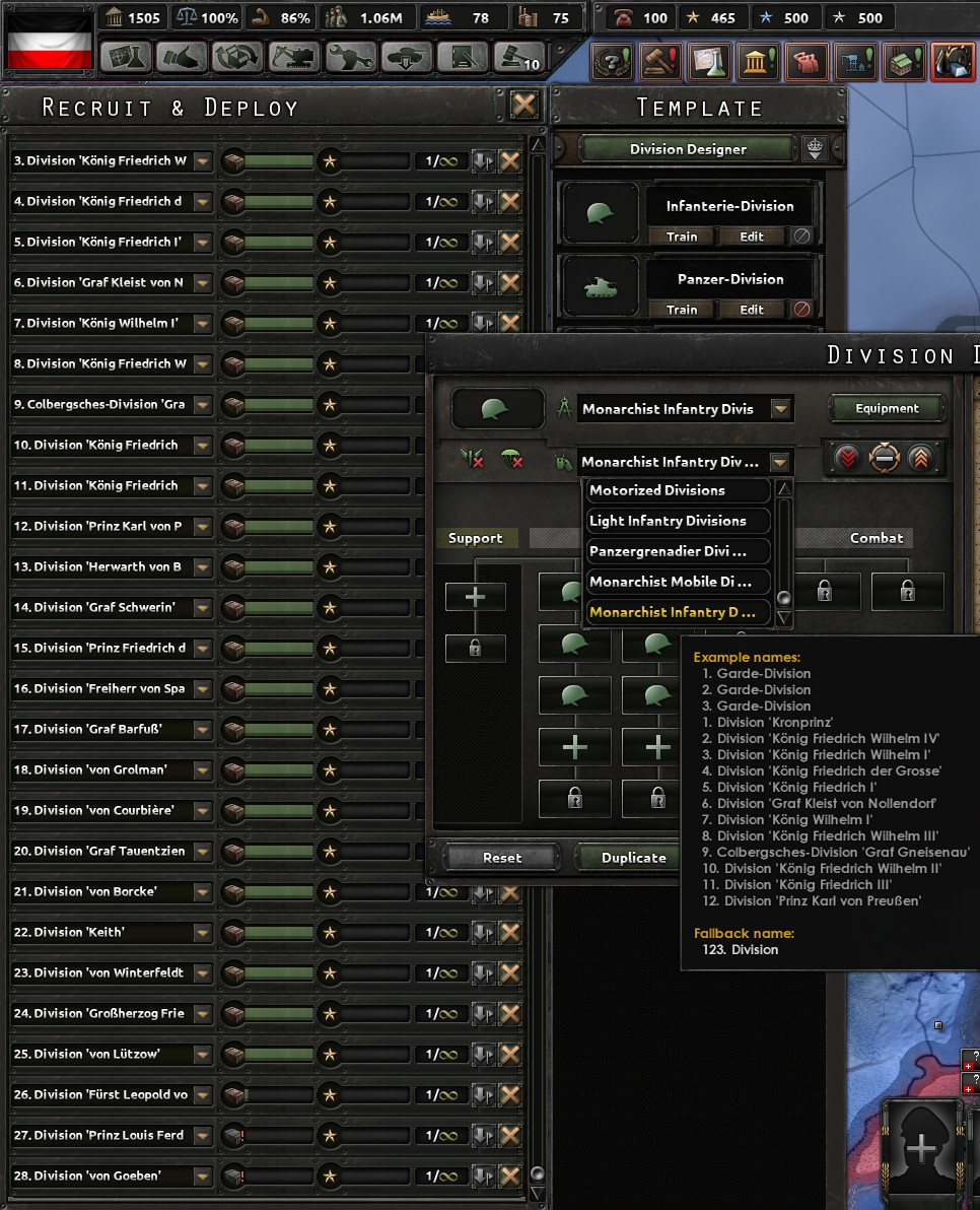 HOI4 Dev Diary - New German Divisional Namelist   Paradox