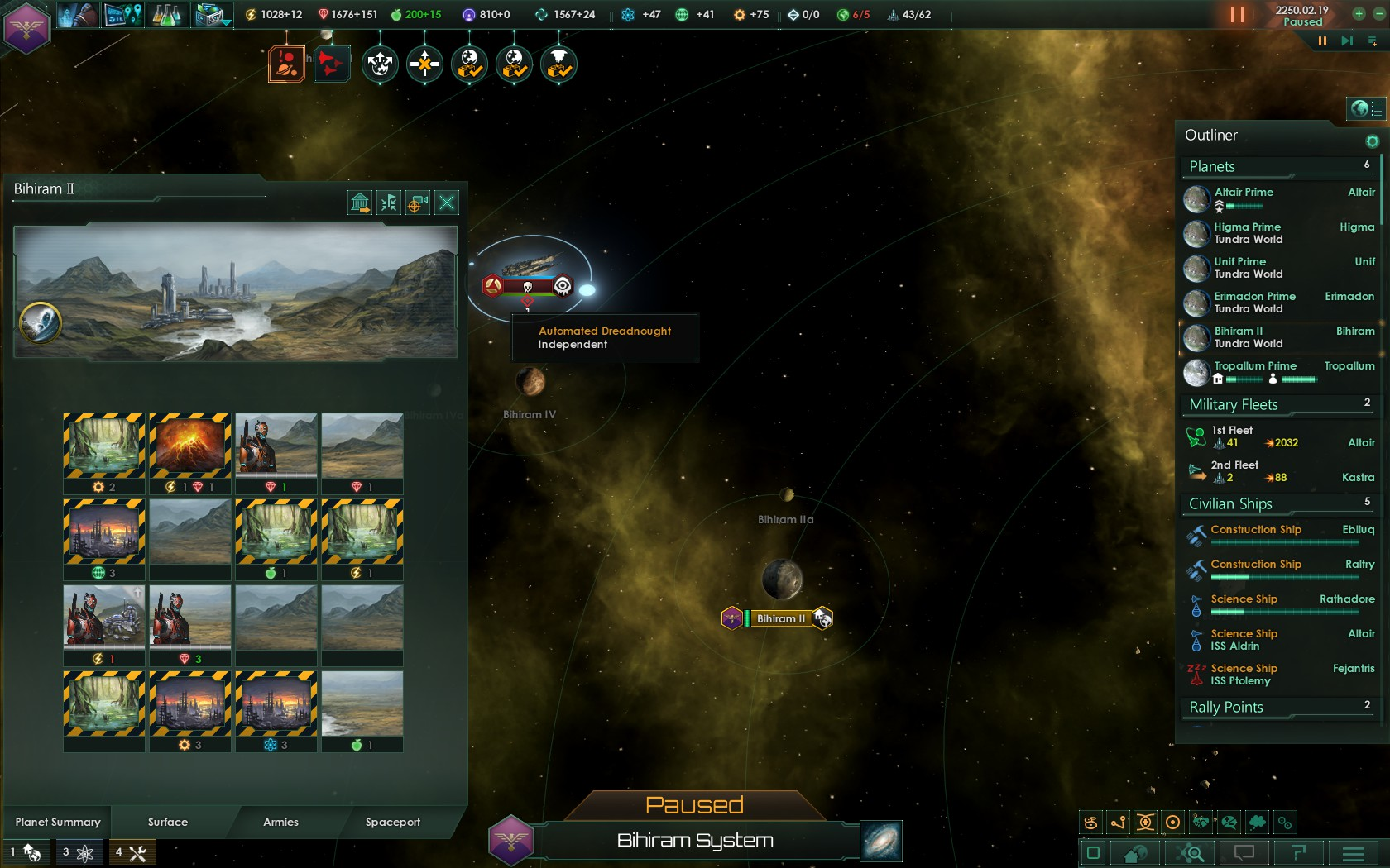 In Limbo aliens are welcomed to settle    | Paradox
