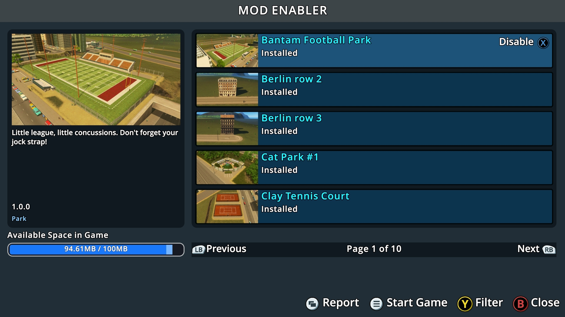 The day is finally here! Mod content is now available for