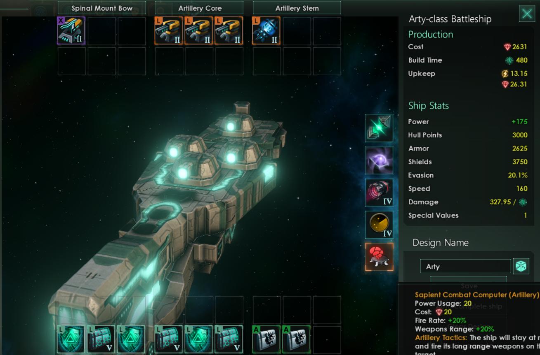 Stellaris Ship Design Guide