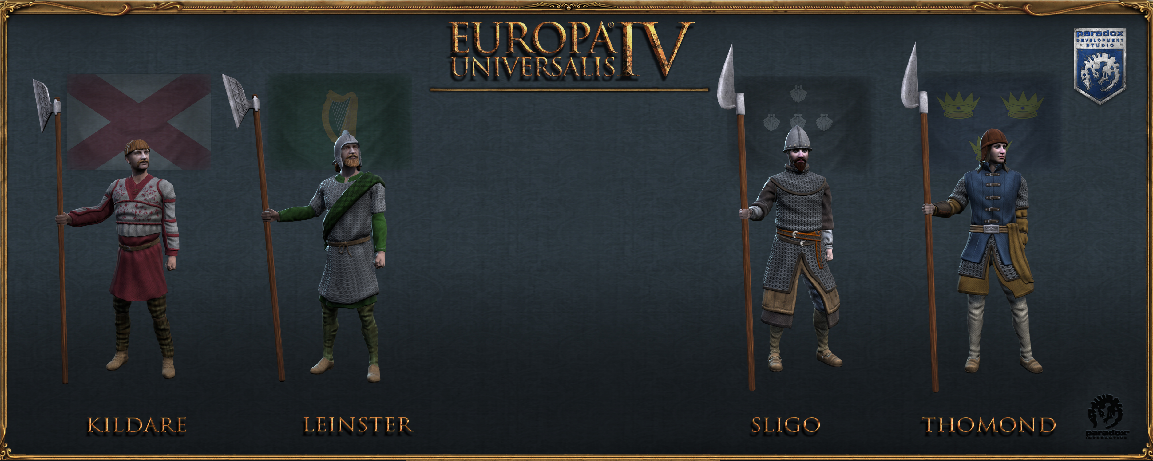Europa Universalis IV: DLC Render Pictures Archive | Paradox