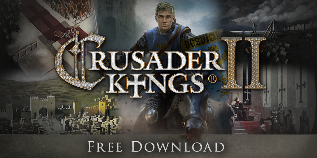Crusader Kings II is currently free on Steam - and there is a sale