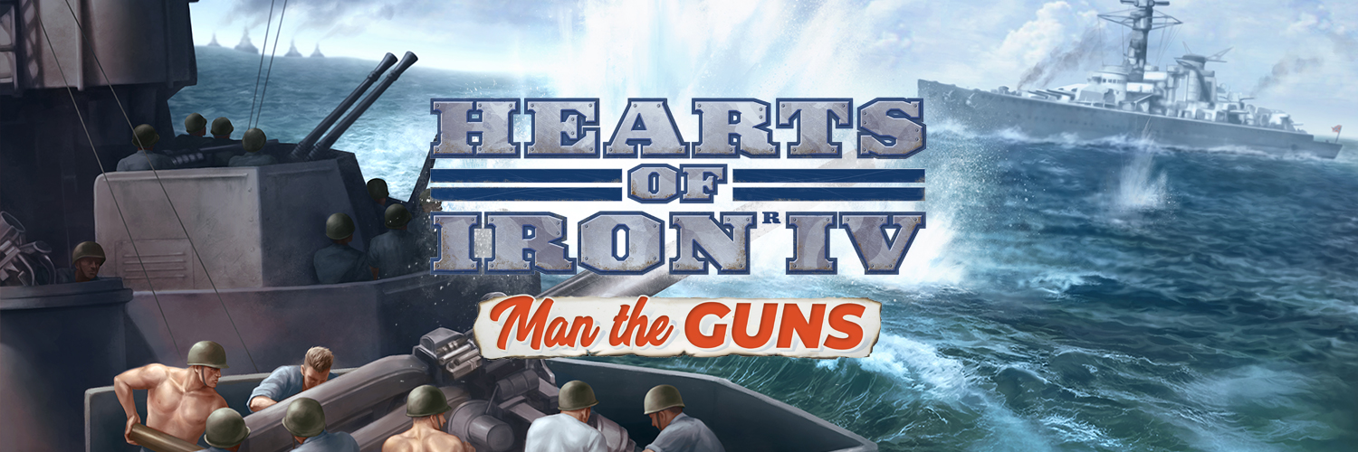 Hearts of Iron IV announces new expansion Man the Guns