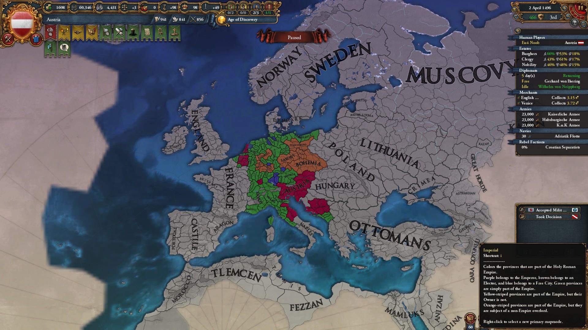 Impressive HRE? (As Austria) | Paradox Interactive Forums