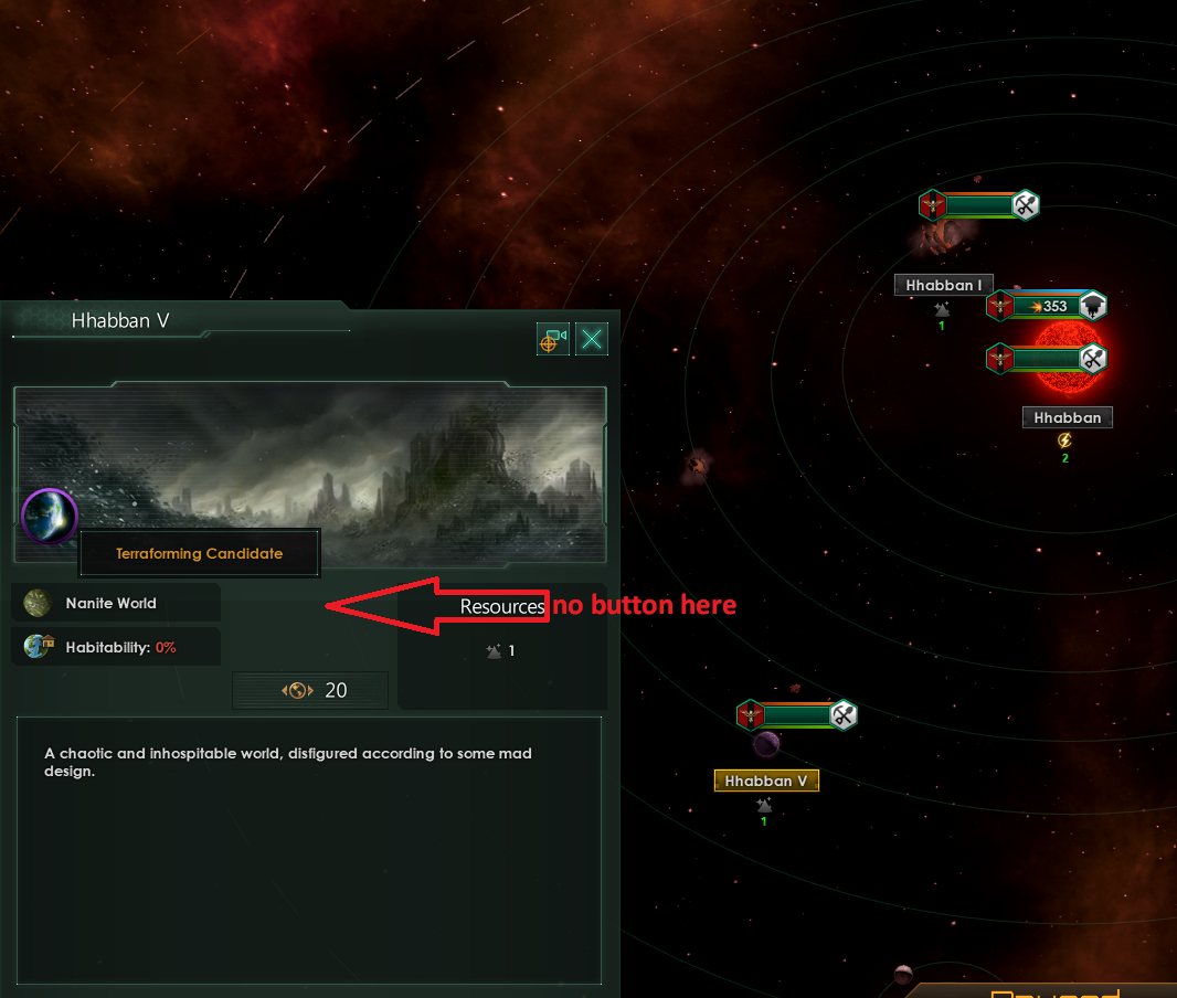 Cleared L-cluster but no terraformable worlds? | Paradox