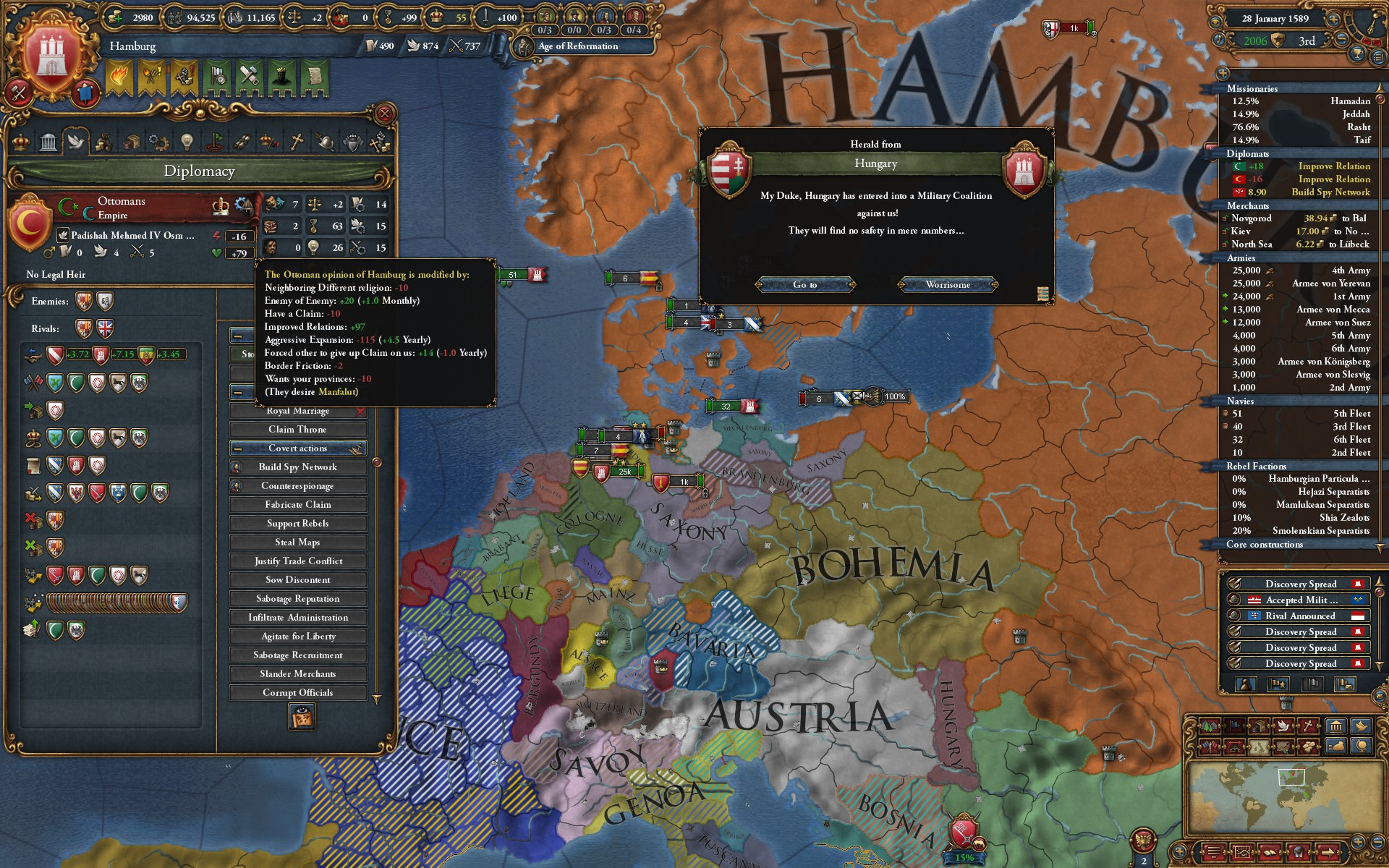 Paranoid Patricians - Hamburg WC without allies/subjects 1 25 1