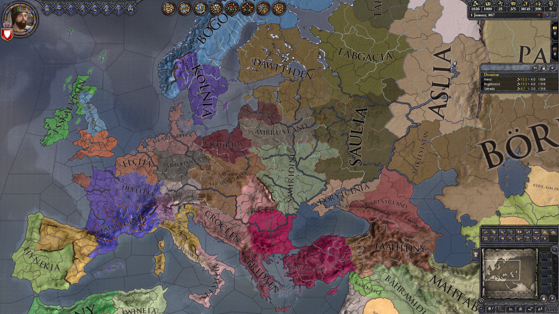 CK2 Dev Diary #98 - Catholicism what? Constantinople where