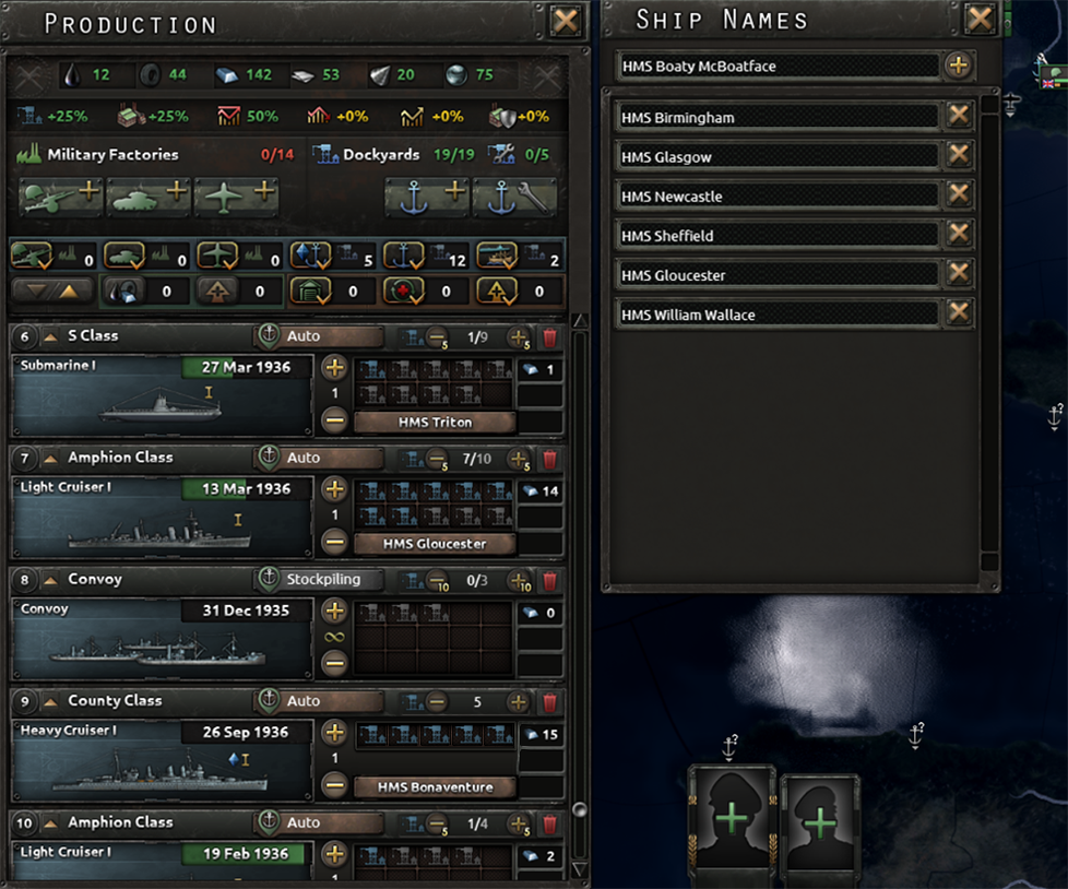 HOI4 Dev Diary - Naval Production, Repair and Damage | Page
