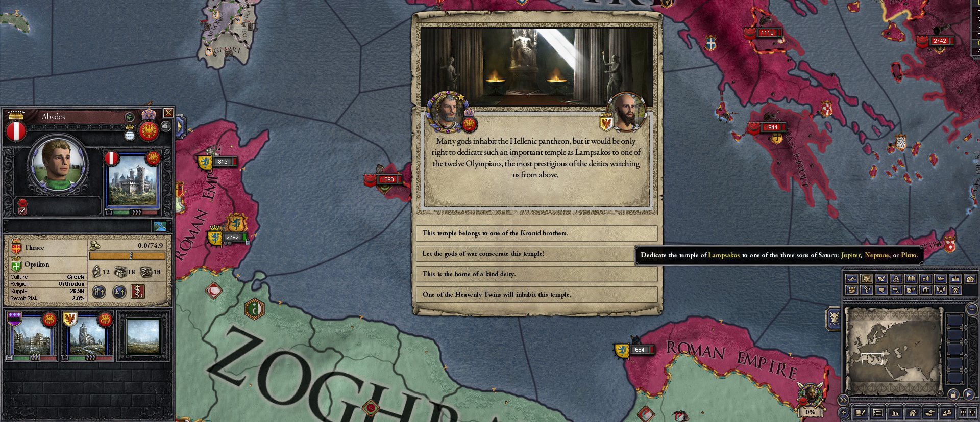 CK2 Dev Diary #102 - About that one dead religion    | Paradox