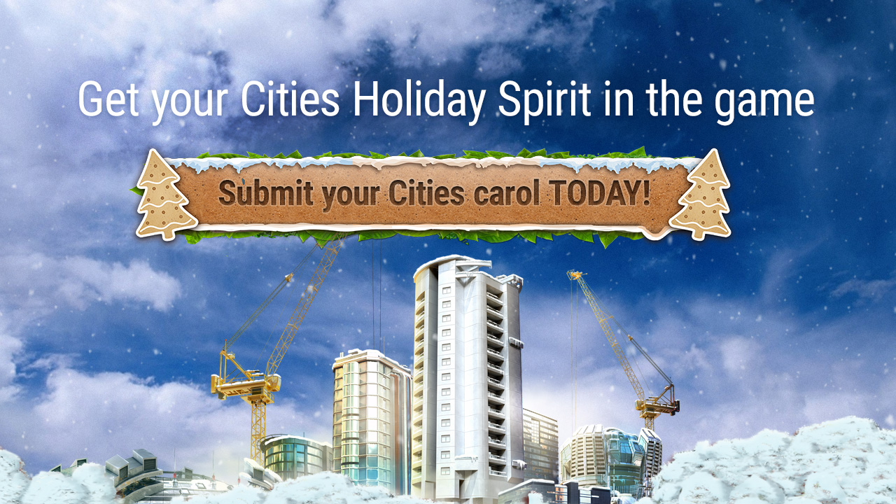 Get your Cities: Skylines Holiday spirit on, help us write the