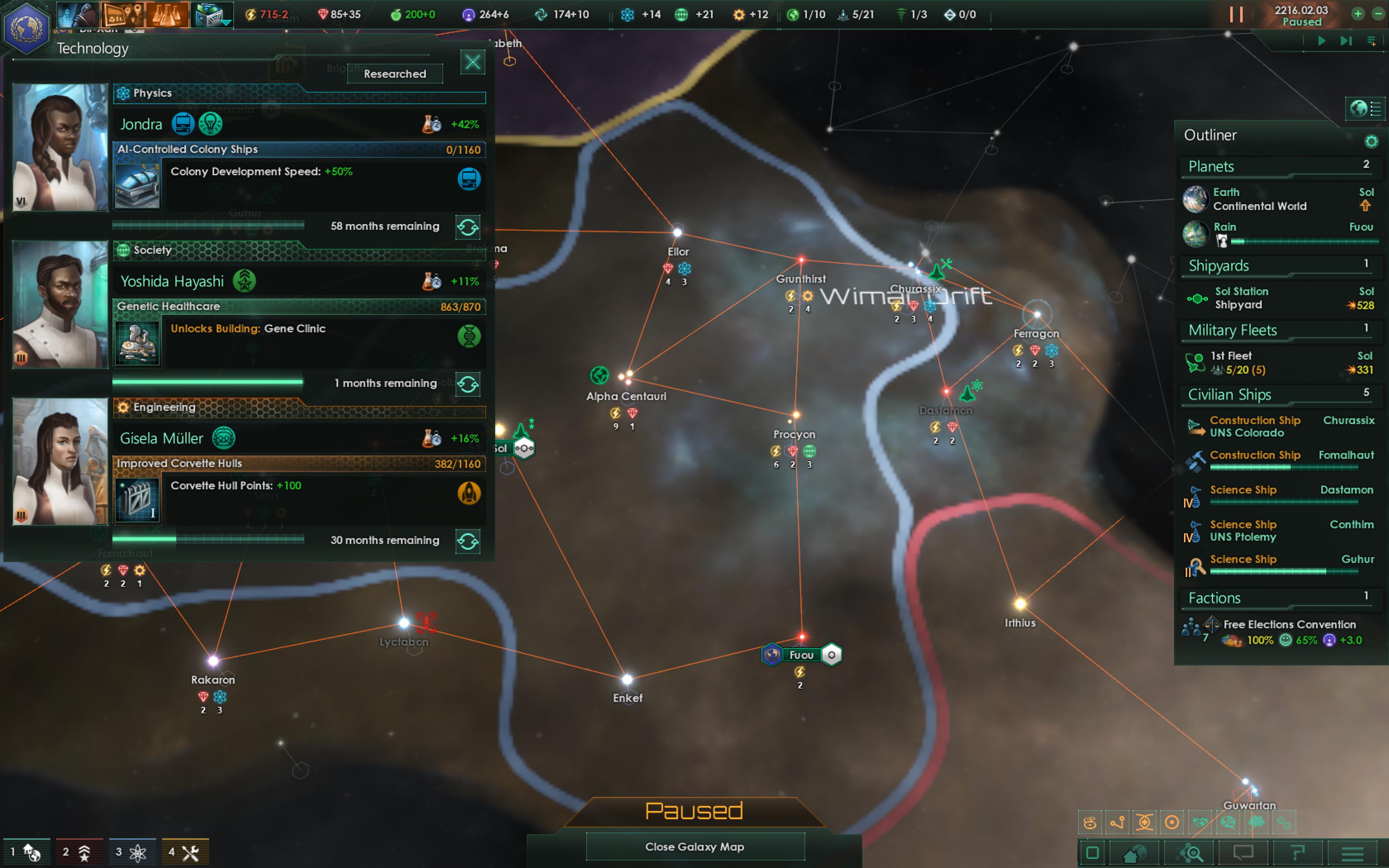 Galactic Civilizations - A Preset Empire AAR for Stellaris