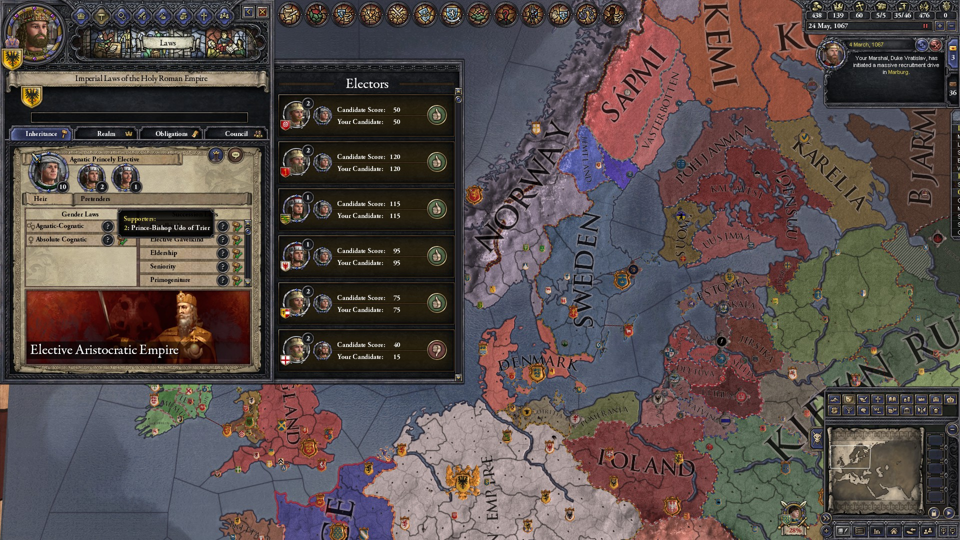 CK2 Dev Diary #106 - New Succession Laws Extravaganza