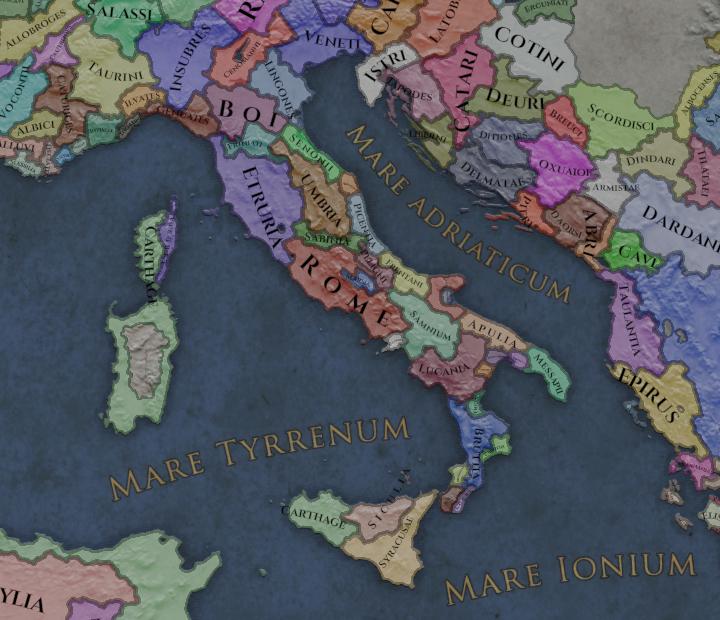 Tarentum Italy Map.Imperator Development Diary 29th Of October 2018 Italy 450 Auc