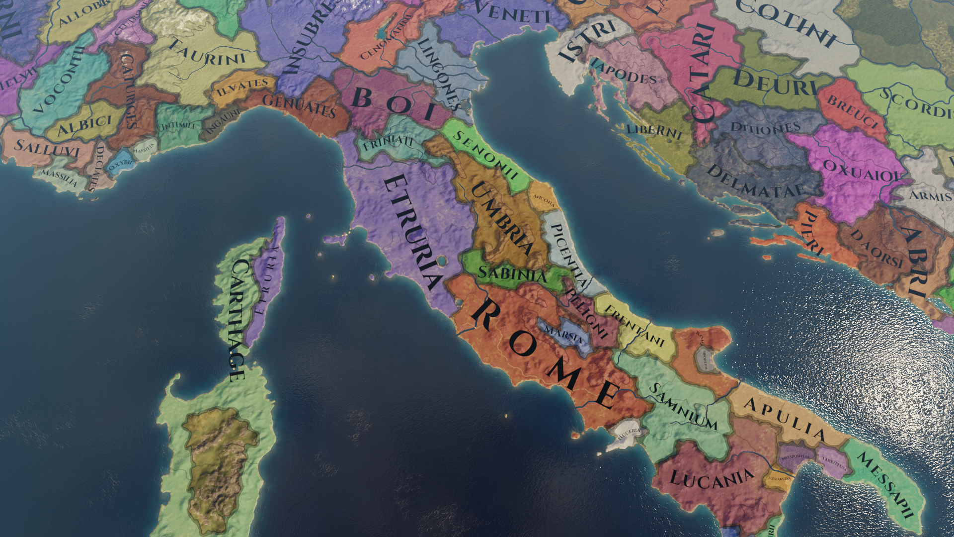 Show A Map Of Italy.Map Of Central Italy Paradox Interactive Forums
