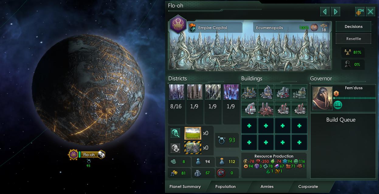 Stellaris Dev Diary #132 - Ecumenopolis and Megastructures | Paradox