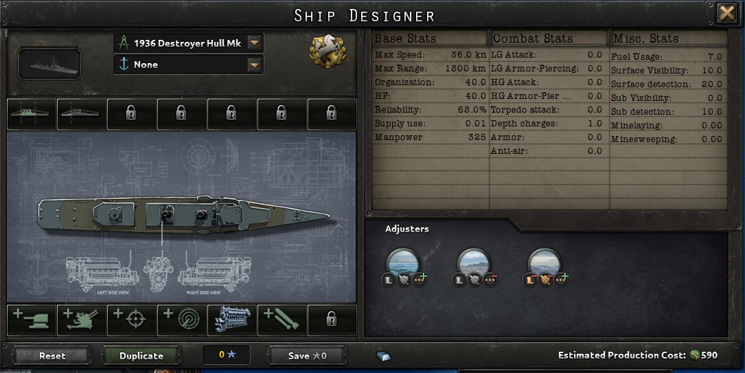 HoI4 Dev Diary - Ship Designer | Paradox Interactive Forums