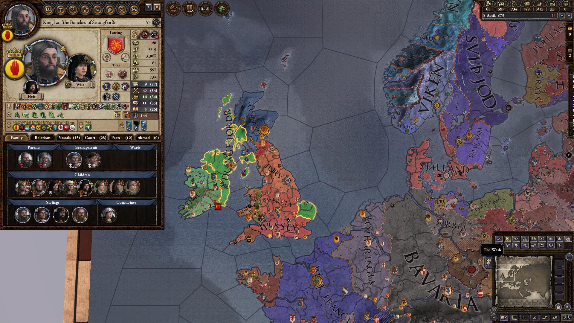 Holy Fury AAR: Ivar the Bönless | Page 2 | Paradox