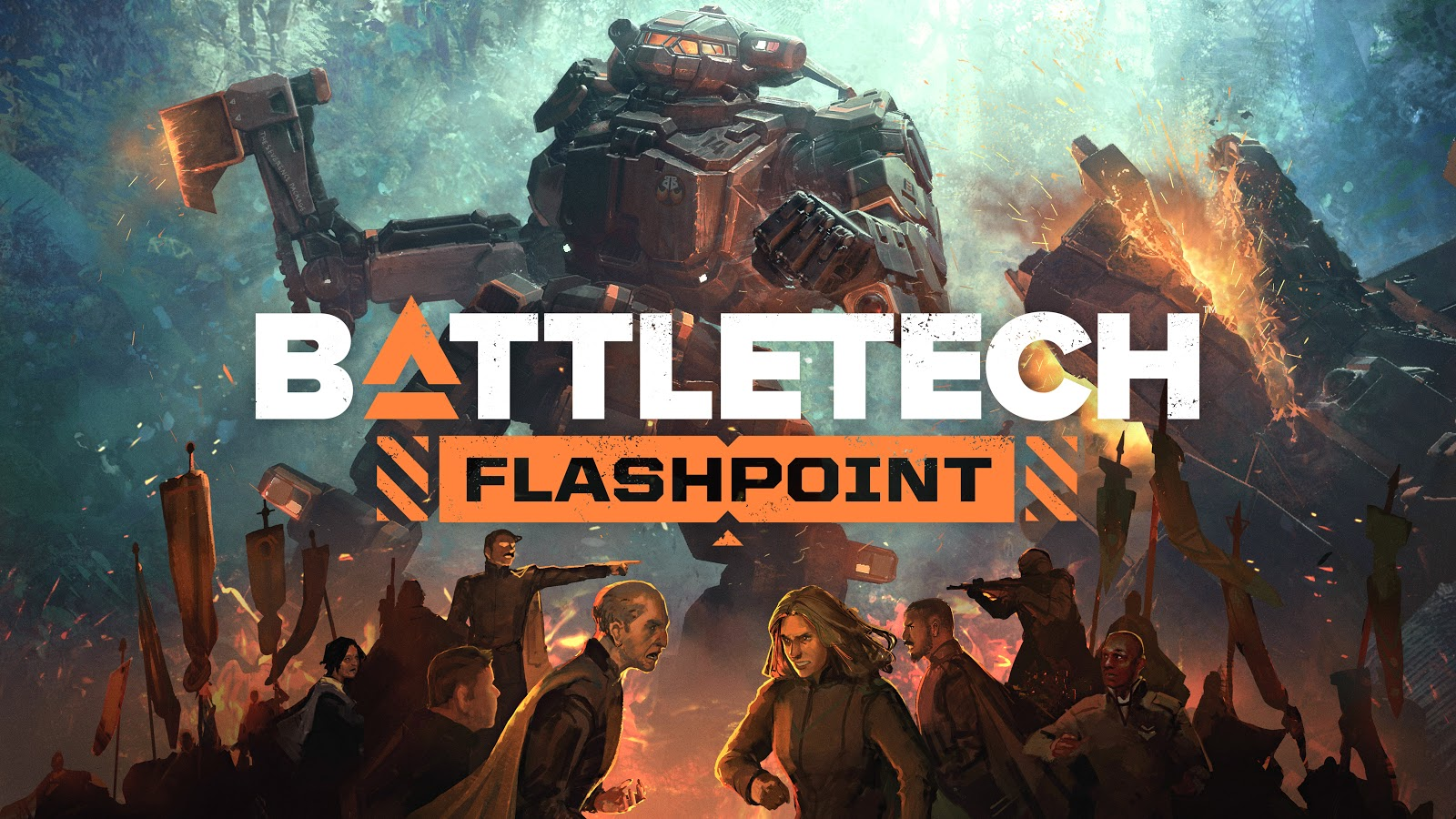 Start your Fusion Engines! BATTLETECH: Flashpoint is NOW AVAILABLE