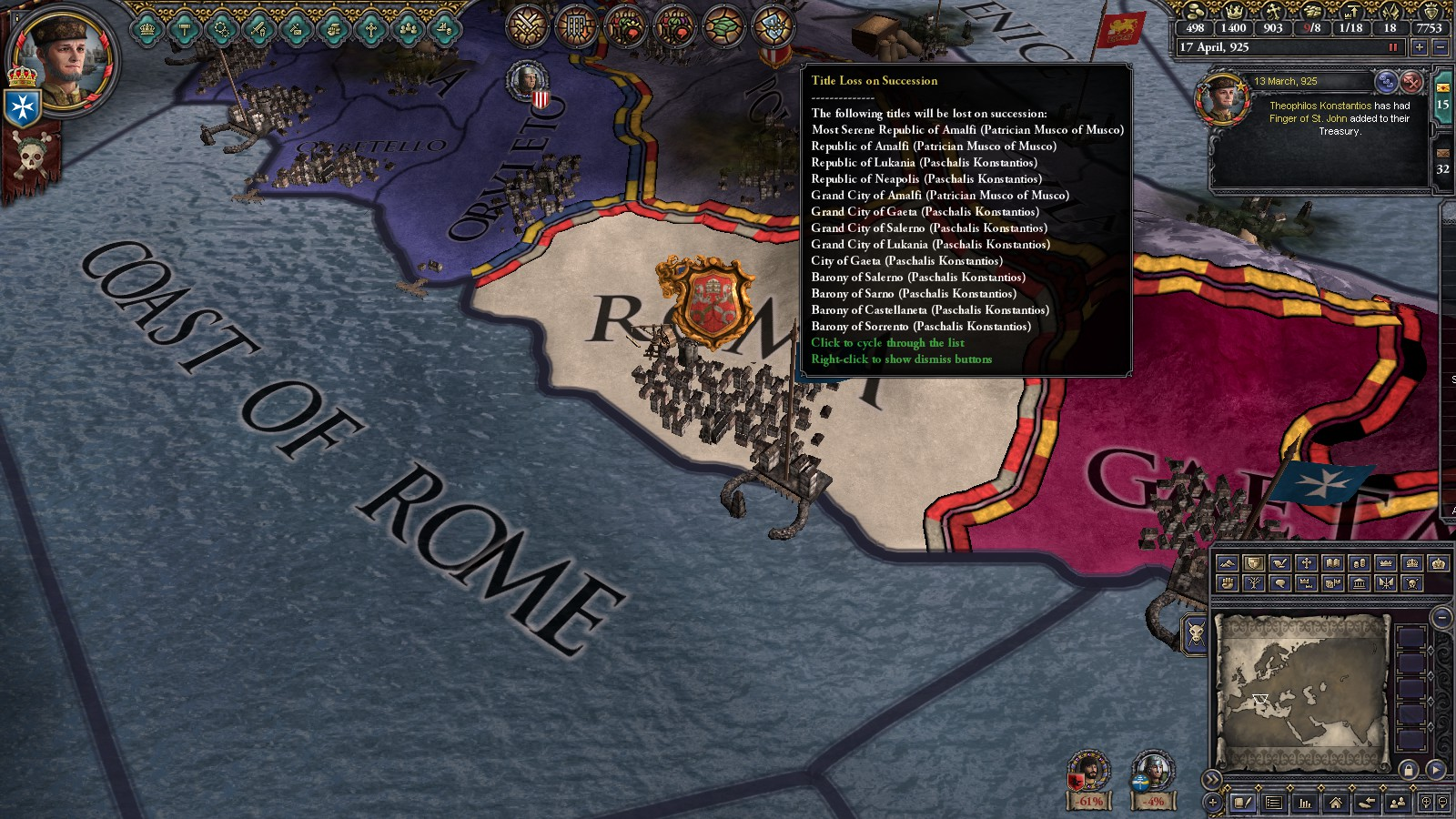 The Byzantine Empire, and how Holy Fury ruined them  | Page 9