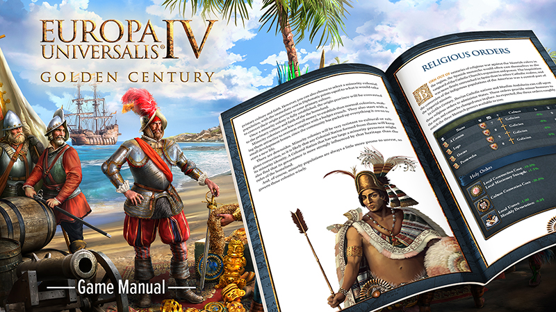 Europa Universalis IV: Golden Century Game Manual (EN/FR/GER