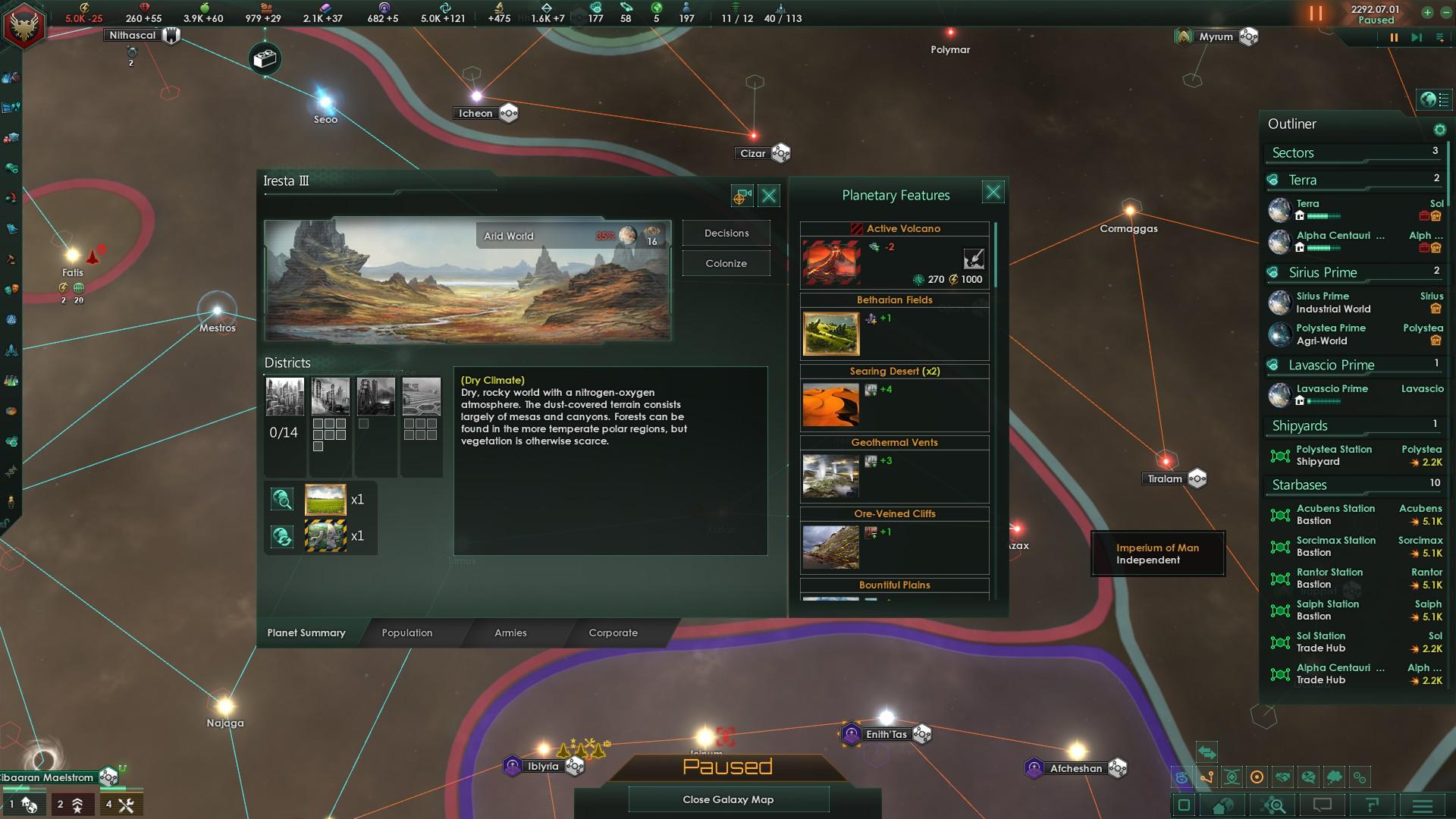 Terraforming and vanishing Districts | Paradox Interactive