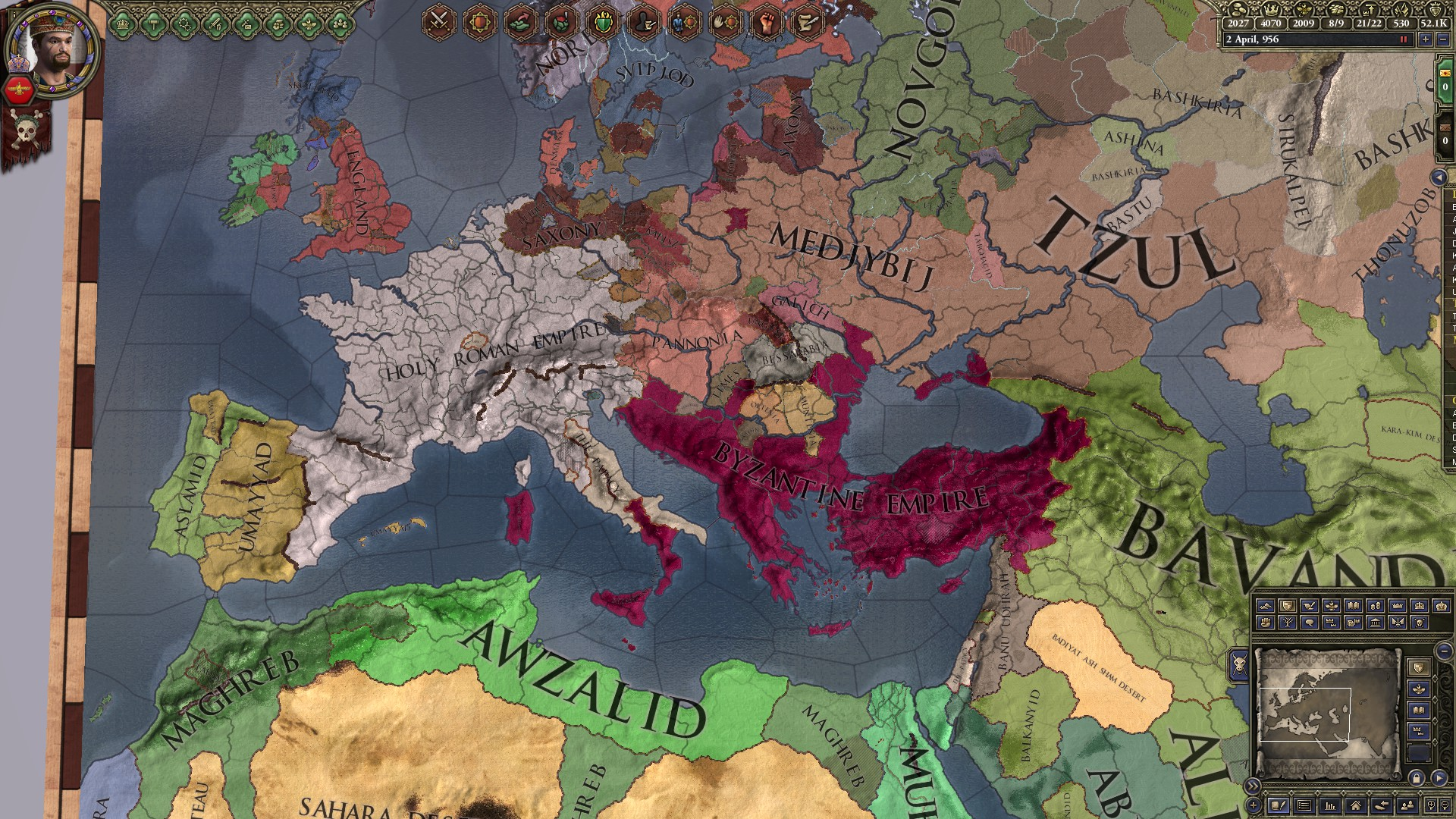 Ck2 new administration penalty