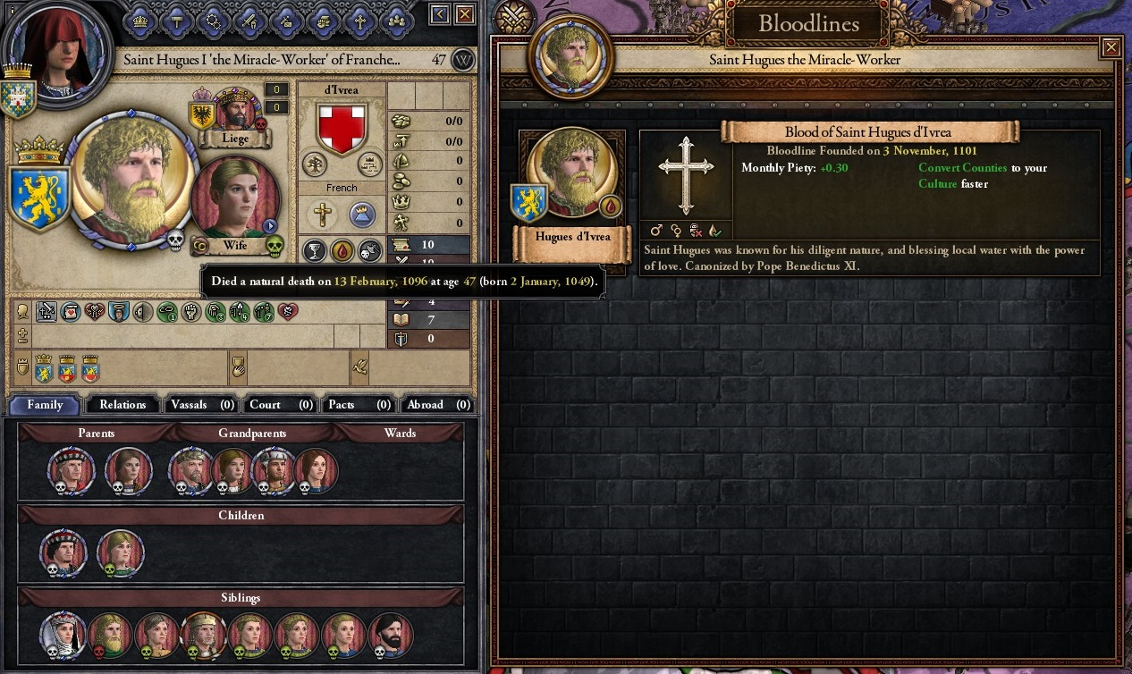 Help me understand CK2 Sainthood    how to get Canonized