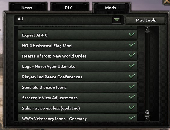 What Mods Are You Using? | Paradox Interactive Forums