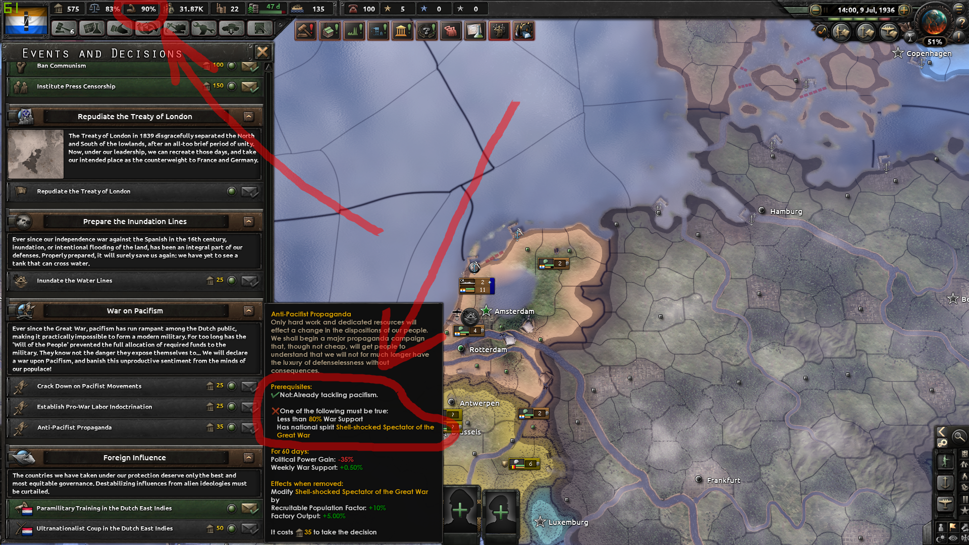 Hoi4 netherlands focus tree bug | Paradox Interactive Forums