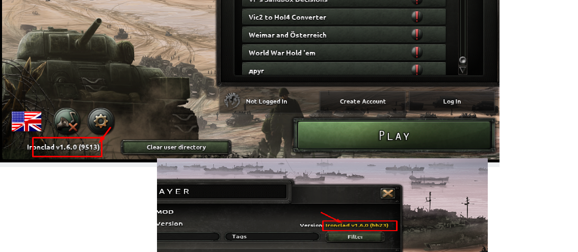 My hoi4 version is messed up  | Paradox Interactive Forums