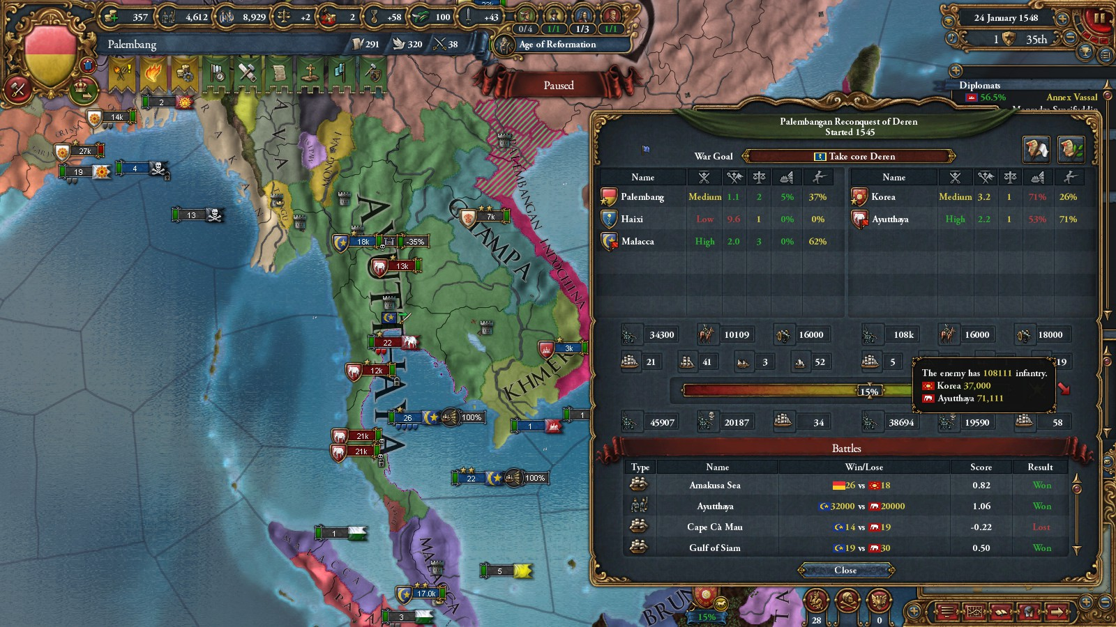 General complaints after failing to bring back Byzantium the